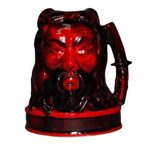 Flambe Samurai Liquor Container - Royal Doulton Liquor Container