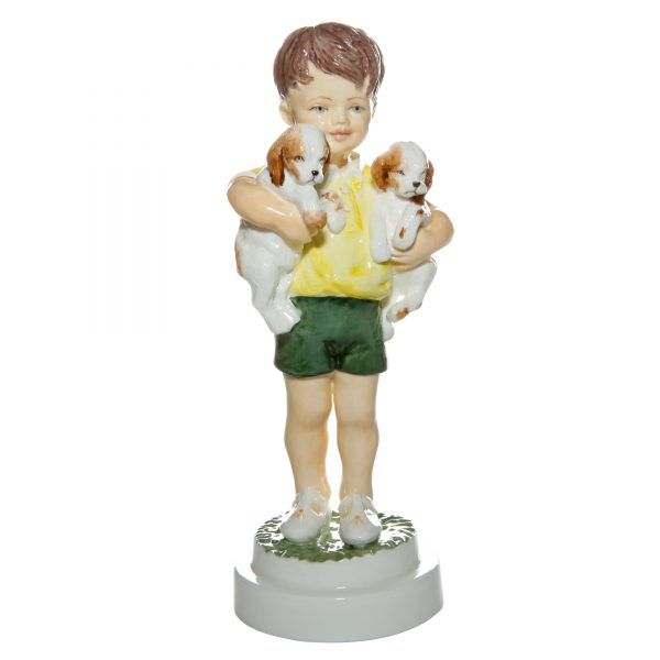 All Mine RW3519 - Royal Worcester Figurine