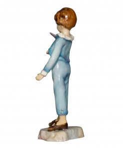 Boy with Parakeet RW3087 - Royal Worcester Figurine