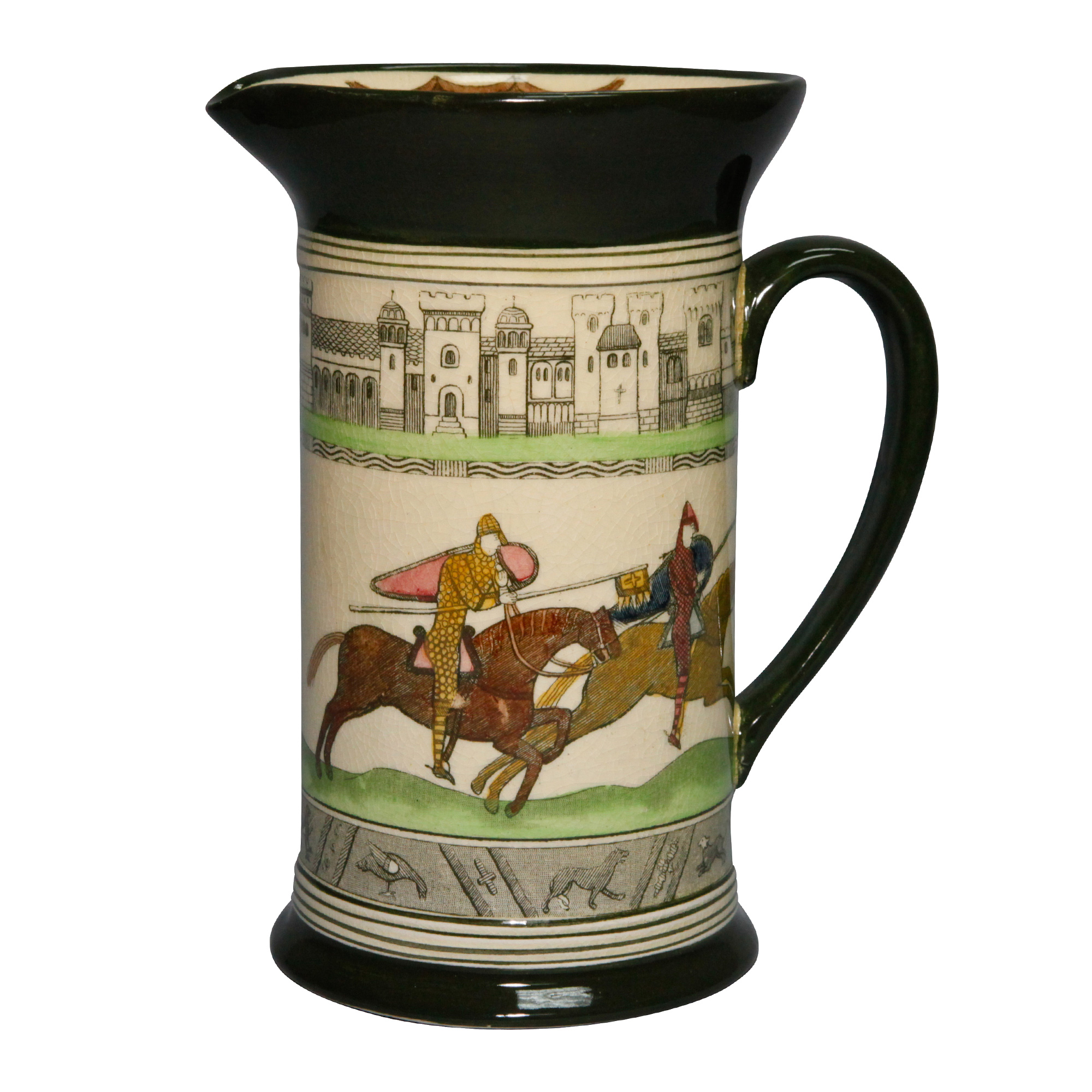 Bayeaux Tapestry Pitcher