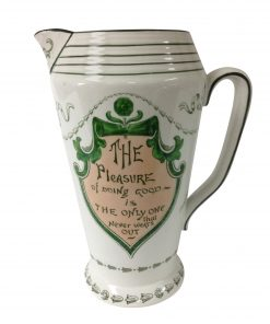 Old English Proverbs Pitcher