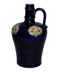 Stoneware Dark Blue bottle