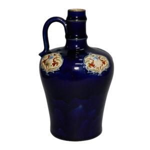 Stoneware Dark Blue bottle