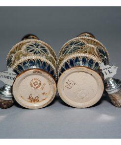 Cruet Set BGC Silver - Doulton Lambeth Stoneware