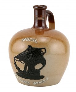 Highland Whiskey Stoneare Jug