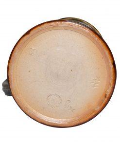 Stoneware Pitcher with Fluerettes