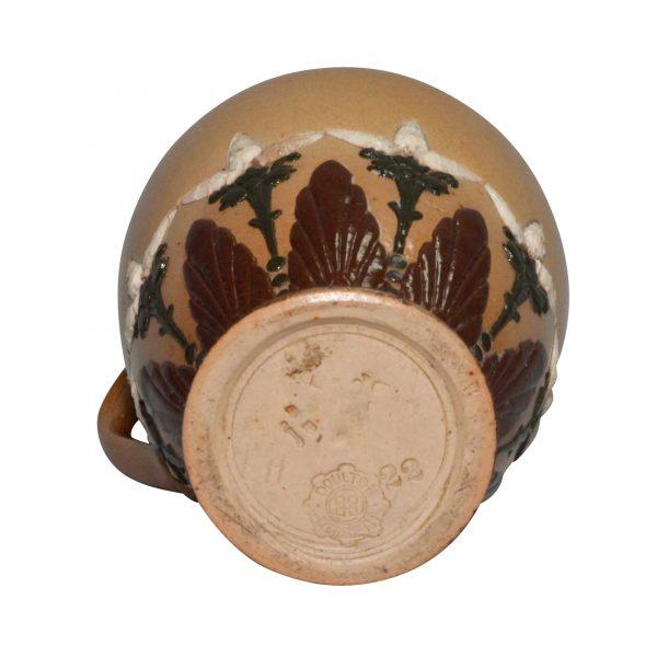 Stoneware Lidded Pitcher