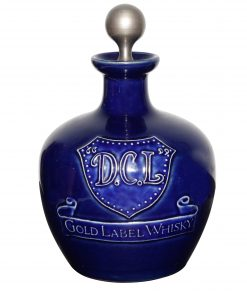 D.C.L. Gold Label Whisky Bottle