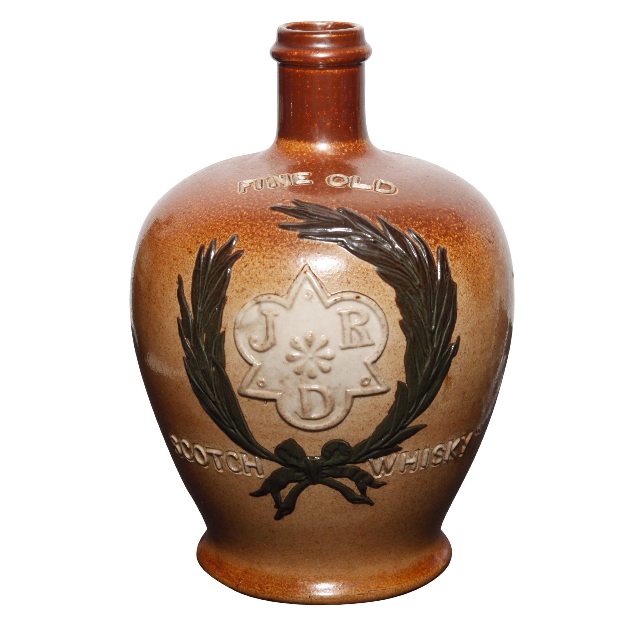 J.R.D. Fine Old Scotch Whisky Bottle