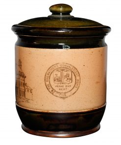 Stoneware Tobacco Jar