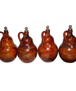 Stoneware Whiskey Jug Set