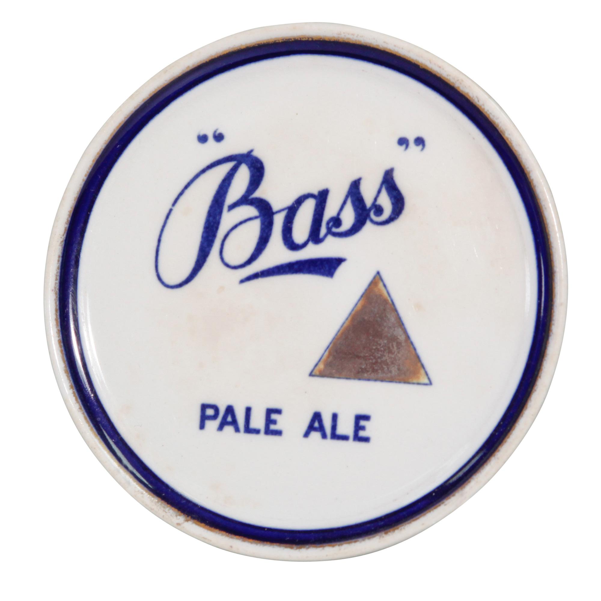 Bass Pale Ale Bottle Coaster