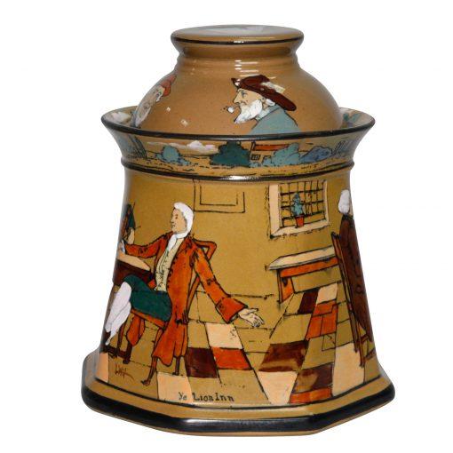 Buffalo Pottery Tobacco Jar