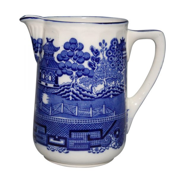Burslem Willow Blue Pitcher