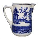 Burslem Willow Blue Pitcher 2