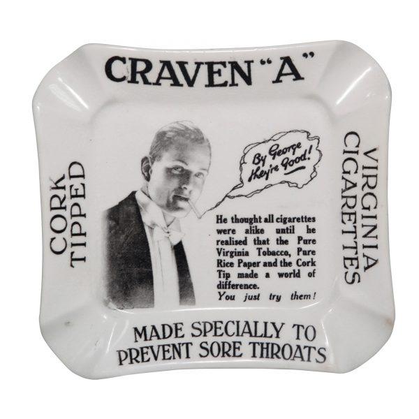 Craven A Cigarettes Ashtray