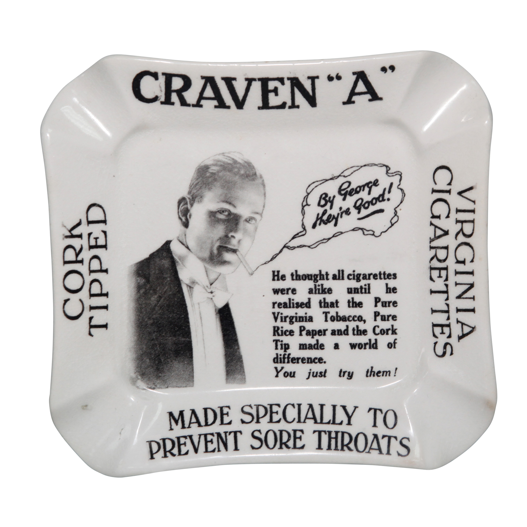 Craven A Cigarettes Ashtray