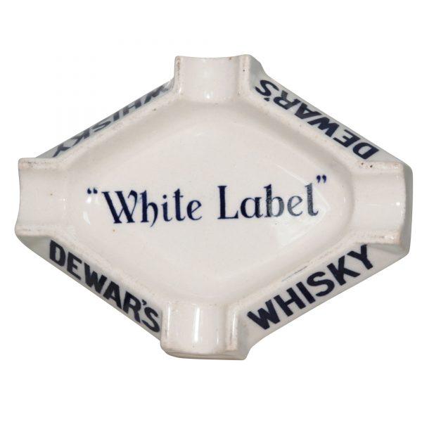 Dewars White Label Ashtray