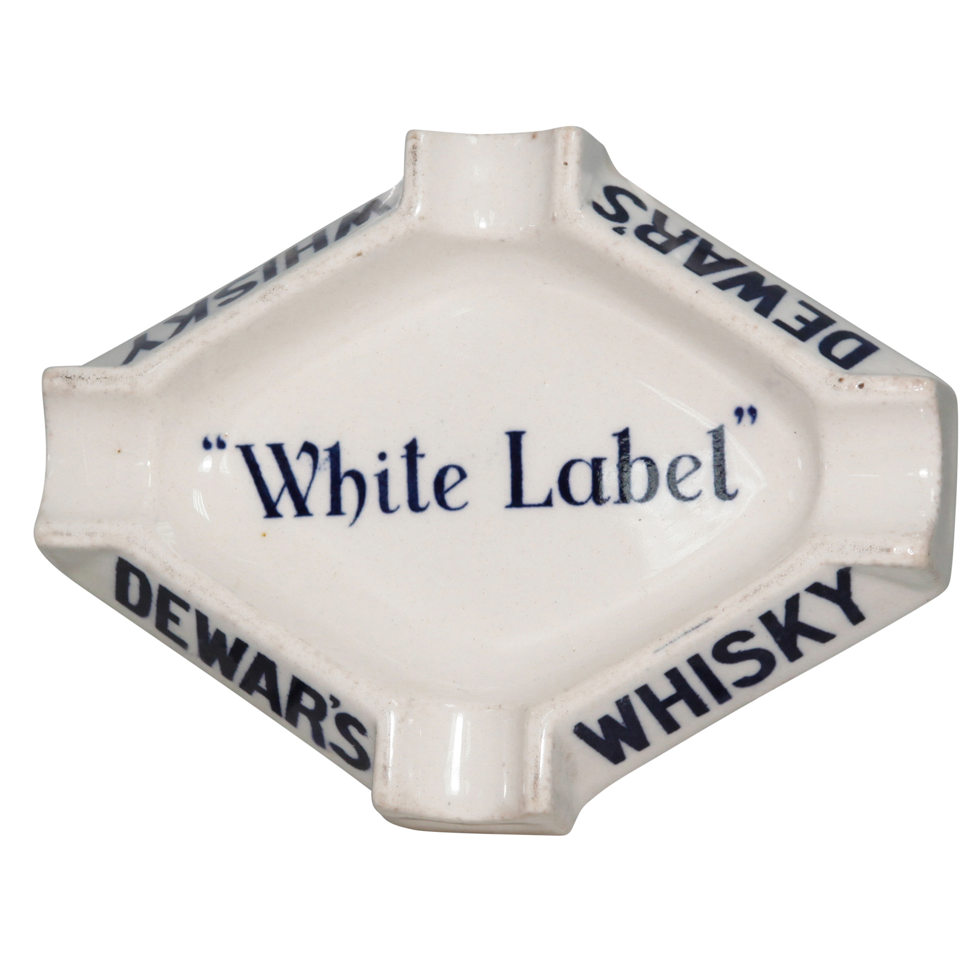 Dewars White Label Ashtray