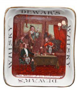 Dewar's Whisky Ashtray