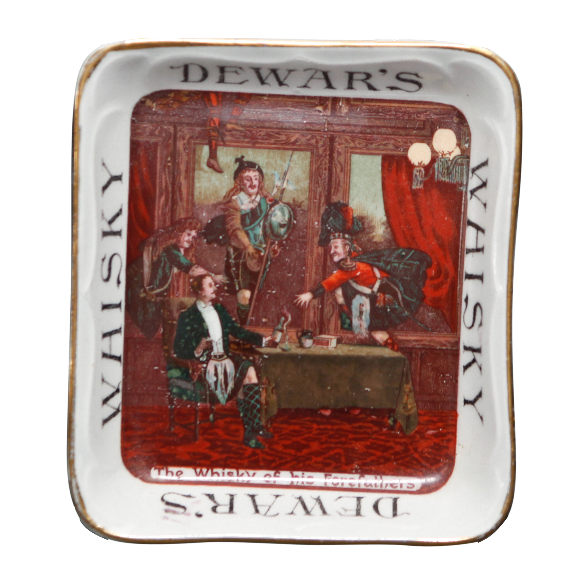 Dewar's Whisky Ashtray