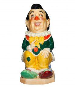 The Clown Black Hair - Kevin Francis Toby Jug