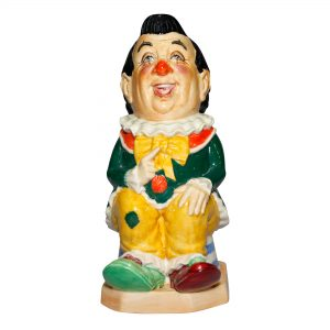 The Clown Black Hair - Kevin Francis Toby Jug