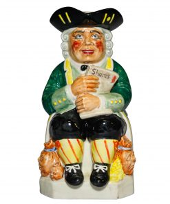 The Shareholder - Kevin Francis Toby Jug