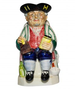 The Doctor Green Striped Shirt - Kevin Francis Toby Jug