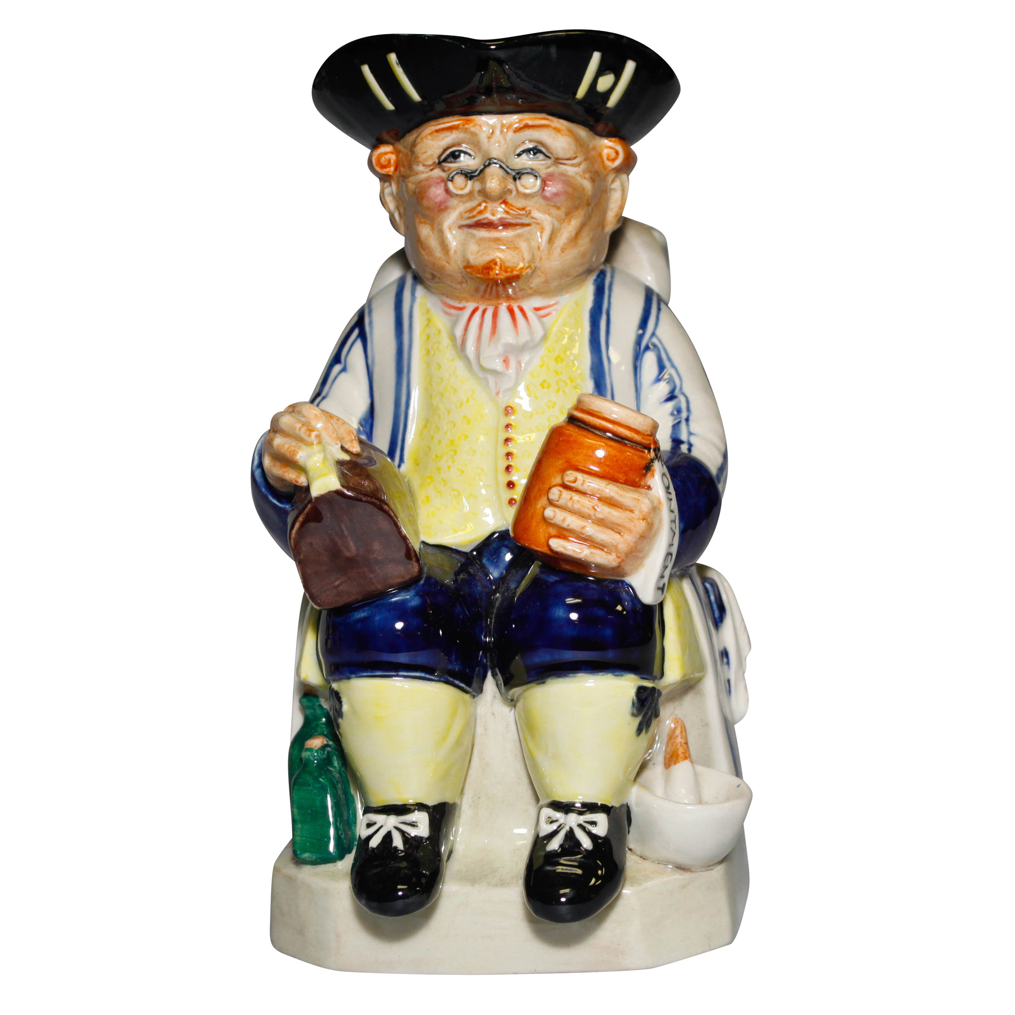 The Doctor Blue Striped Shirt - Kevin Francis Toby Jug