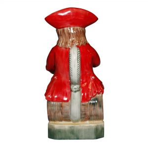 The Lord Howe Toby Jug Red - Kevin Francis Toby Jug