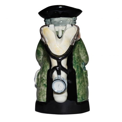 The Doctor Solid Green Jacket AP - Kevin Francis Toby Jug