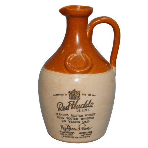 Red Hackle Scotch Whiskey Bottle