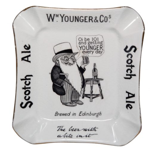 Younger Scotch Ale Ashtray