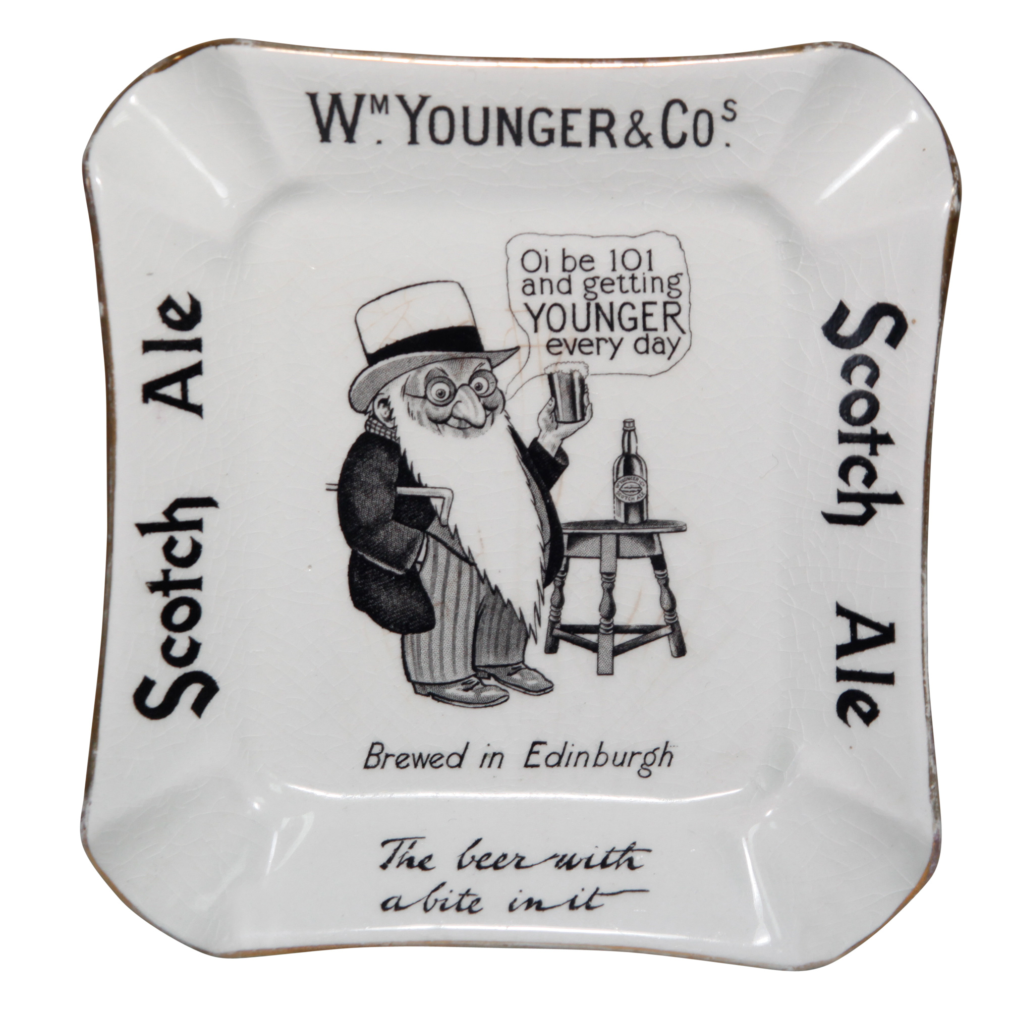 Younger Scotch Ale Ashtray