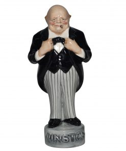 Winston Churchill Figure (Black tuxedo ) - Bairstow Manor Collectables