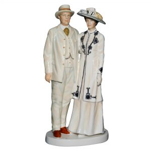 Lord and Lady Grantham HN5842 - Downton Abbey - Royal Doulton Figurine