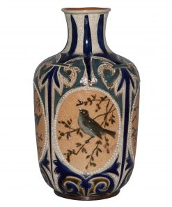 Vase with Birds FEB - Doulton Lambeth
