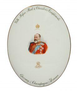 Edward VII Plaque Champagne - Royal Doulton Commemorative