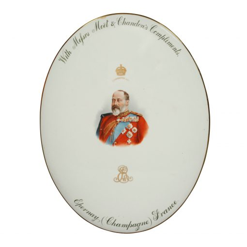 Edward VII Plaque Champagne - Royal Doulton Commemorative