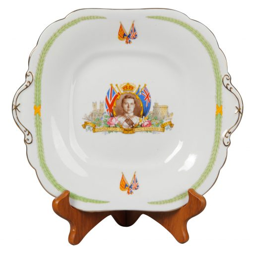 Edward VIII Plate Aynsely - Royal Doulton Commemorative