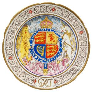 George VI Elizab Plate 10 - Paragon Commemorative