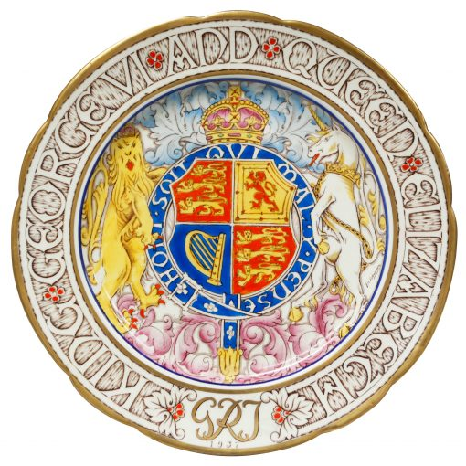 George VI Elizab Plate 10 - Paragon Commemorative