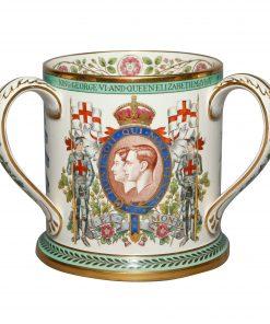 George VI QE Spode Tyg - Royal Doulton Commemorative
