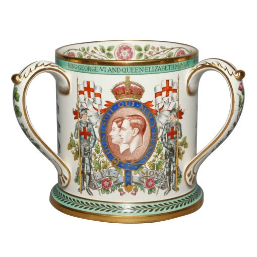 George VI QE Spode Tyg - Royal Doulton Commemorative