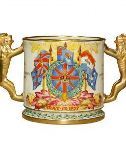 GeorgeVI Elizabeth LovingCup S - Paragon Commemorative
