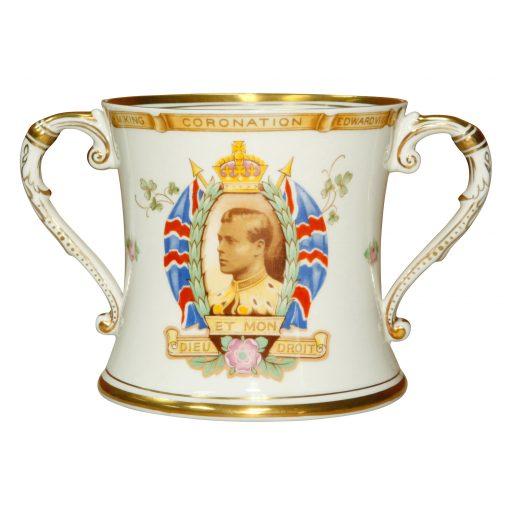 King Edward VIII Loving Cup Shelley - Royal Doulton Commemorative