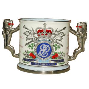 Loving Cup Elizabeth II Duke - Paragon Commemorative