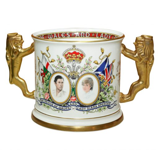 Paragon Loving Cup Marriage Charles D - Paragon Commemorative