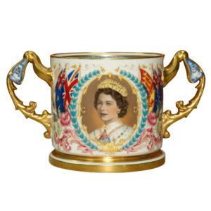 Queen Elizabeth II Coron Cup - Royal Doulton Commemorative